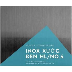 INOX XƯỚC HL/NO4 ĐEN