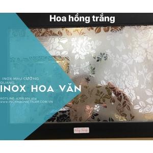 INOX HOA HỒNG TRẮNG