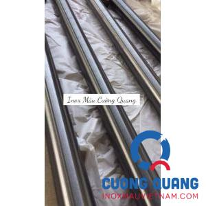 Stainless steel pipe color black